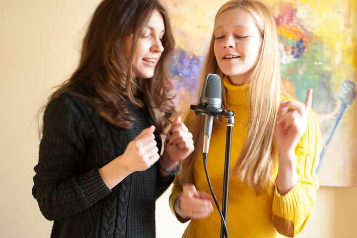 Сертификат на занятия вокалом