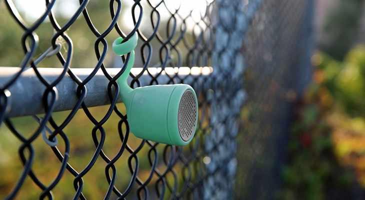 Boom water resistant speaker