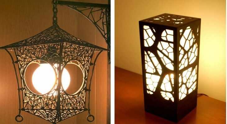 Светильники из металла