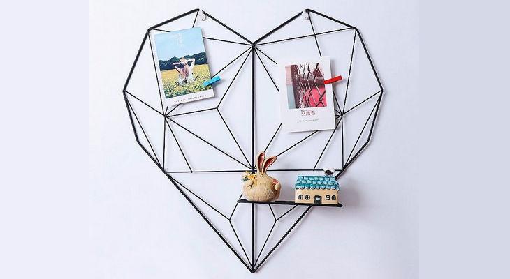 Панно для фотографий «Сердце»