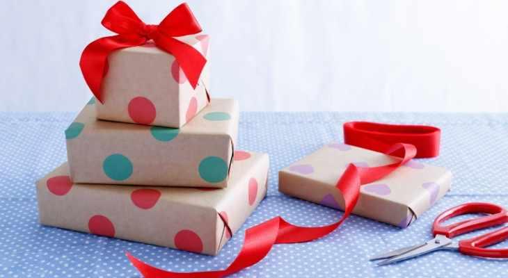 красиво упакованные коробки