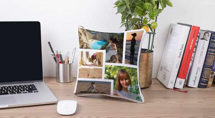 Подушка «Instasleep» с вашими фотографиями