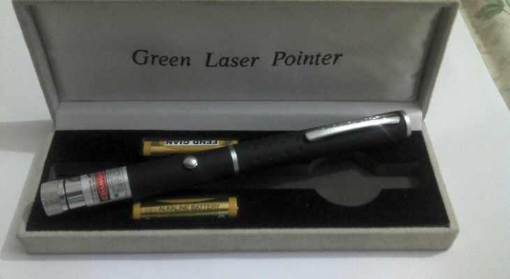 лазерная указка в подарок