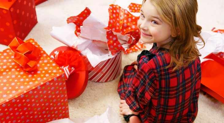 Подарок дочке на Новый год