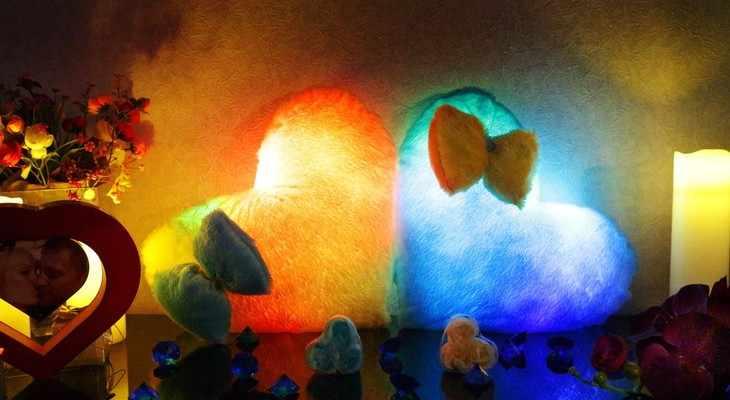 светодиодная подушка
