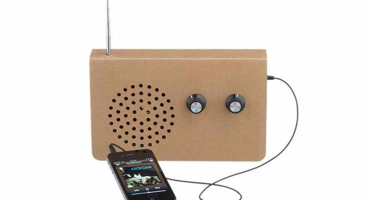 Эко-радио Cardboard