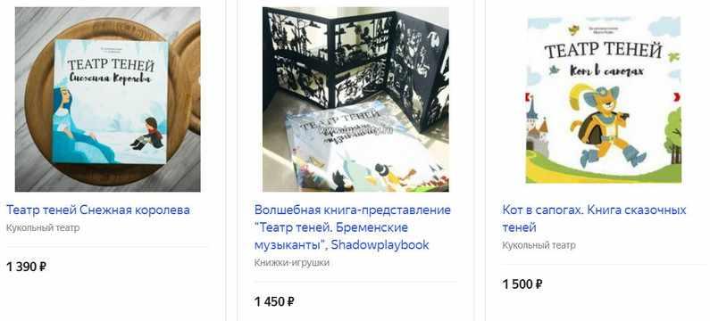 Книга «Театр теней»