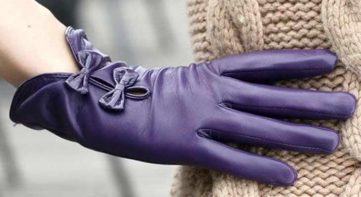 Элегантные дамские перчатки