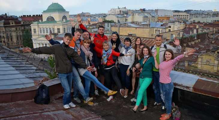 Экскурсия от руферов по крышам города