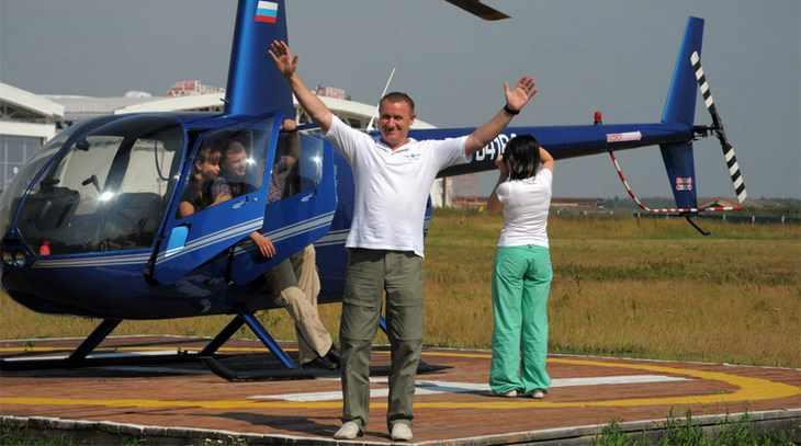 Экстремальный полет с пилотом