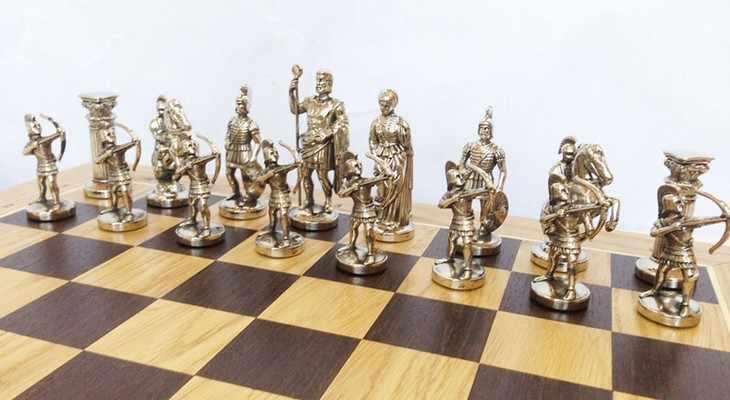 оловянные шахматы