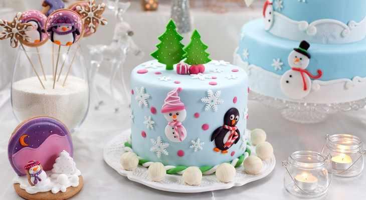 новогодний торт в подарок