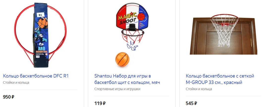 Кольцо для баскетбола