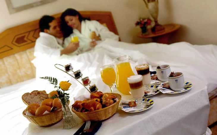 Сертификат на завтрак для новобрачных