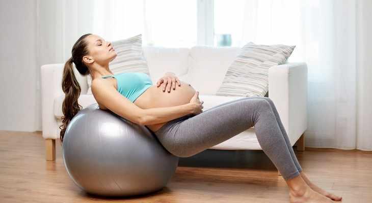 фитбол в подарок для беременной