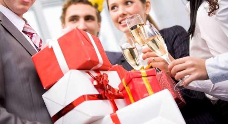 Идеи бизнес-подарков на Новый год