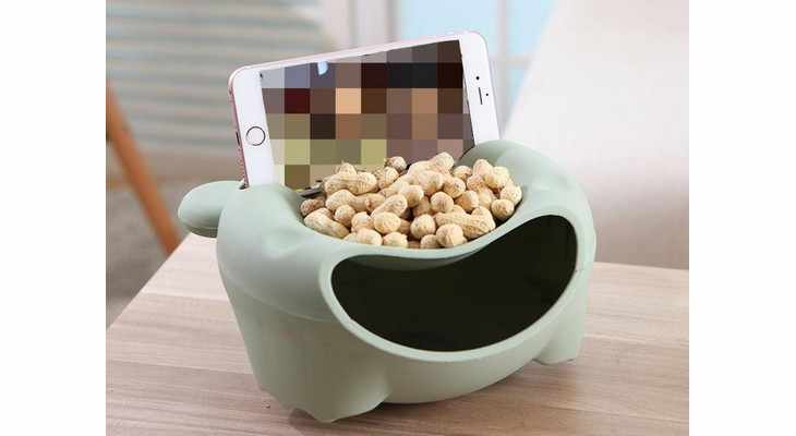Чаша с подставкой под телефон