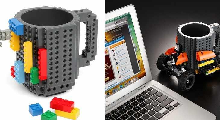 Чашка Лего